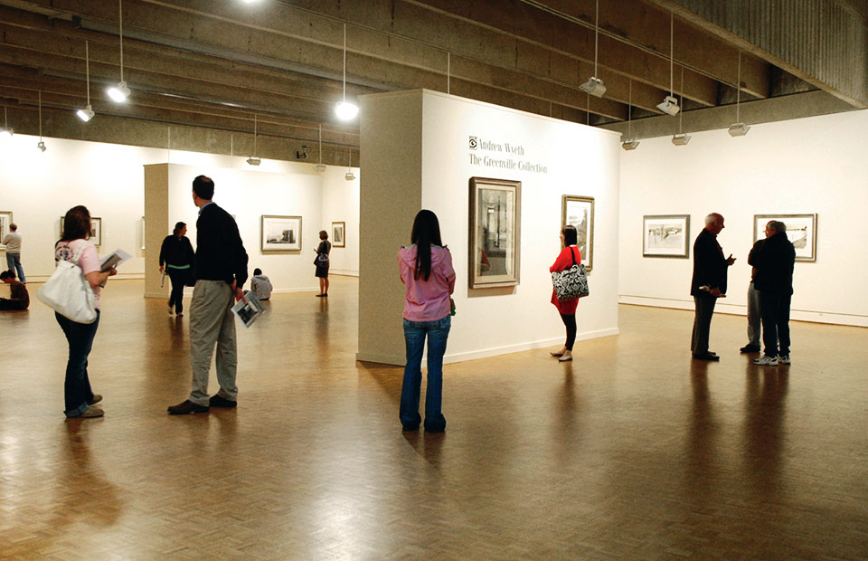 visitors Wyeth gallery.jpg